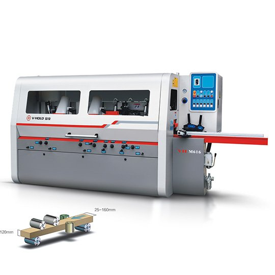 Four Sided Planer Moulder - 16 SERIES (Medium Duty, Max Width 160mm)